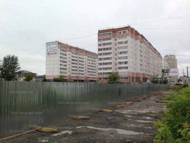 Адрес(а) на фотографии: улица Избирателей, 110, Екатеринбург
