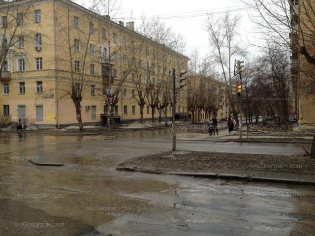Адрес(а) на фотографии: улица Стачек, 23, 25, Екатеринбург