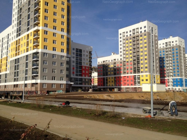 Address(es) on photo: Krasnolesiya street, 155, 157, 159, Yekaterinburg