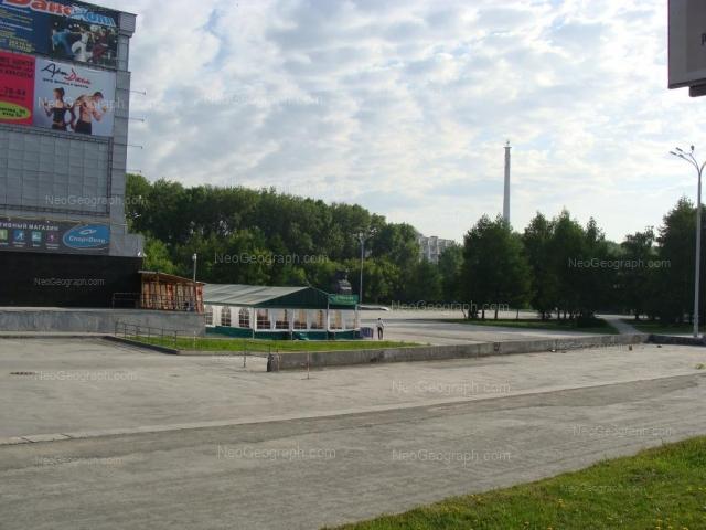 На фото видно: Большакова улица, 90 (Уралец, КРК). Екатеринбург (Свердловская область)