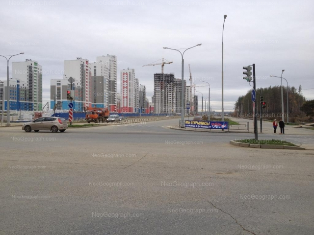 Address(es) on photo: Krasnolesiya street, 137, 139, 145, 151, Yekaterinburg