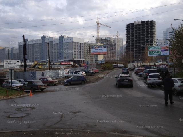 Адрес(а) на фотографии: улица Юмашева, 4, 5, Екатеринбург
