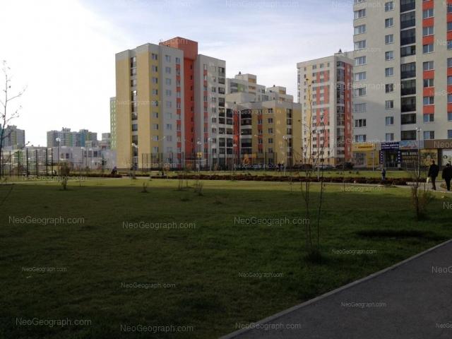 улица Краснолесья, Екатеринбург, детский сад №23, микрорайон Академический