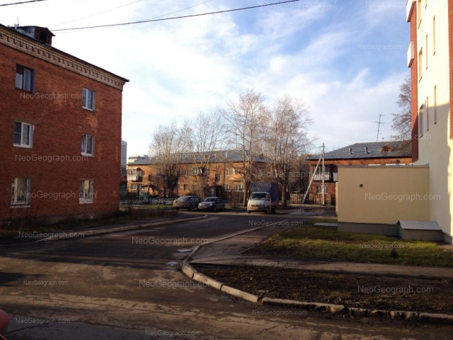 Address(es) on photo: Ukhotomskaya street, 8, 10, Yekaterinburg