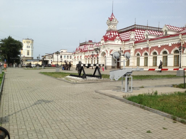 Address(es) on photo: Vokzalnaya street, 12, 13а, 14, Yekaterinburg