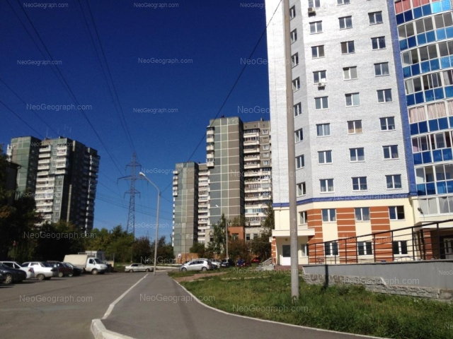 Address(es) on photo: Esenina boulevard, 5, 6, 7, 7А, 10, Yekaterinburg