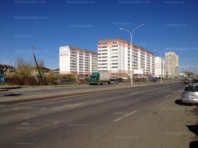Address(es) on photo: Bakinskikh Komissarov street, 107, Yekaterinburg