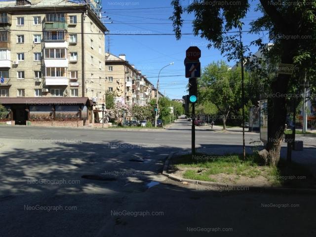 Адрес(а) на фотографии: улица Шейнкмана, 32, 34, 45, Екатеринбург