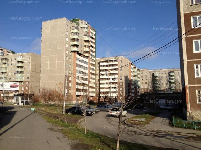 Адрес(а) на фотографии: улица Крестинского, 11, 13, 15, 17, Екатеринбург