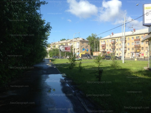 Адрес(а) на фотографии: Донбасская улица, 37, 39, Екатеринбург