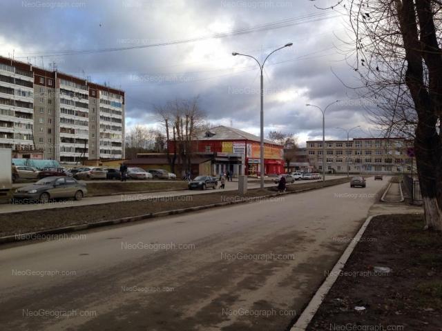 Address(es) on photo: Latviiskaya street, 2, 2а, Yekaterinburg