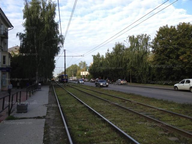 Адрес(а) на фотографии: Комсомольская улица, 1, Екатеринбург