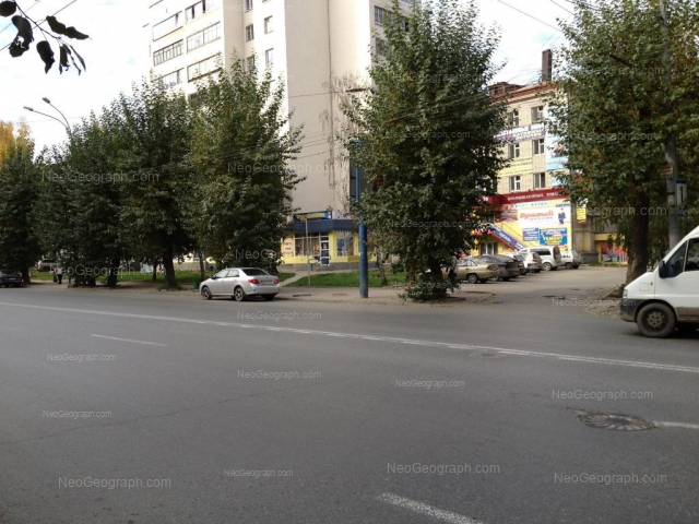 Адрес(а) на фотографии: улица Щорса, 56, 58, Екатеринбург