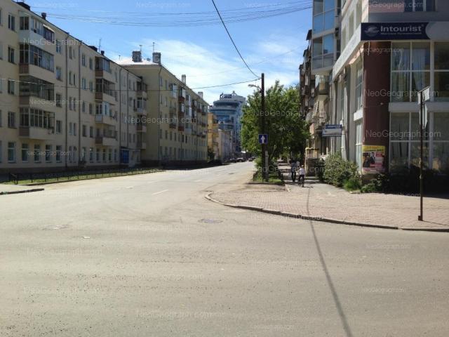 Address(es) on photo: Sakko i Vantsetti street, 54, 55, 57, 57Б, 61, Yekaterinburg
