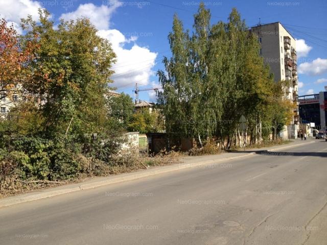 Address(es) on photo: Industrii street, 123, 125, Yekaterinburg