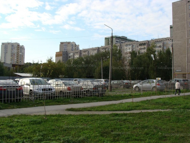 Адрес(а) на фотографии: улица Академика Постовского, 14, 16А, 17, 19, Екатеринбург