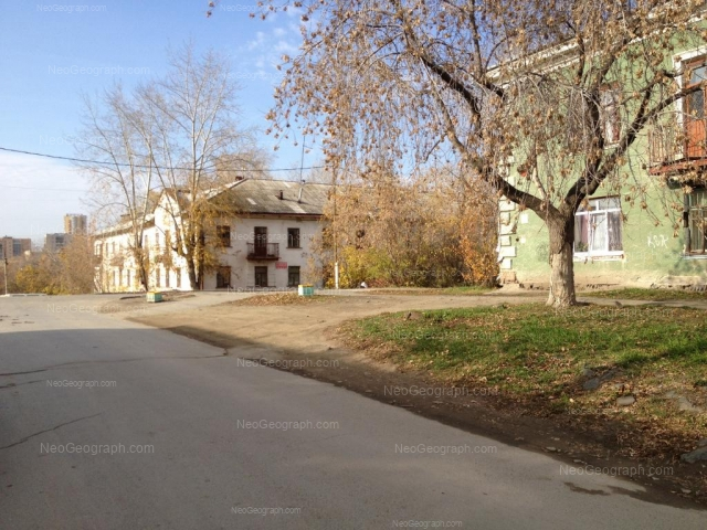 Address(es) on photo: Mnogostanochnikov lane, 8, Yekaterinburg