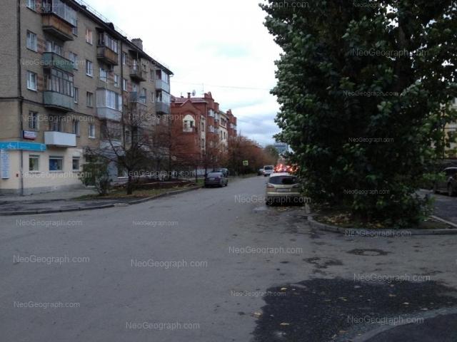 Адрес(а) на фотографии: улица Сакко и Ванцетти, 35, 36, 37, Екатеринбург