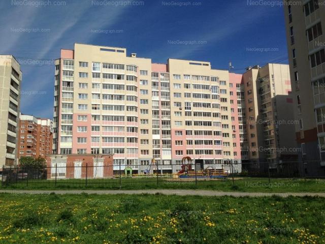 Адрес(а) на фотографии: Бисертская улица, 29, 34, Екатеринбург