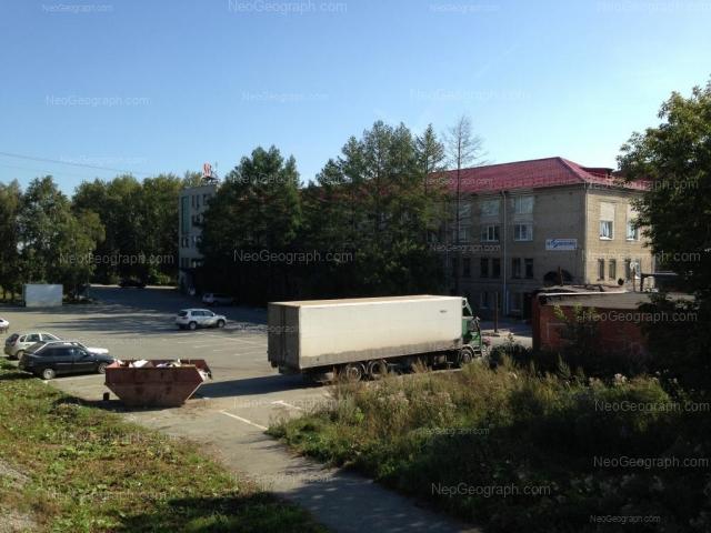 Вид на здание с адресом: улица Новинская улица, 2, Екатеринбург (Свердловская область)
