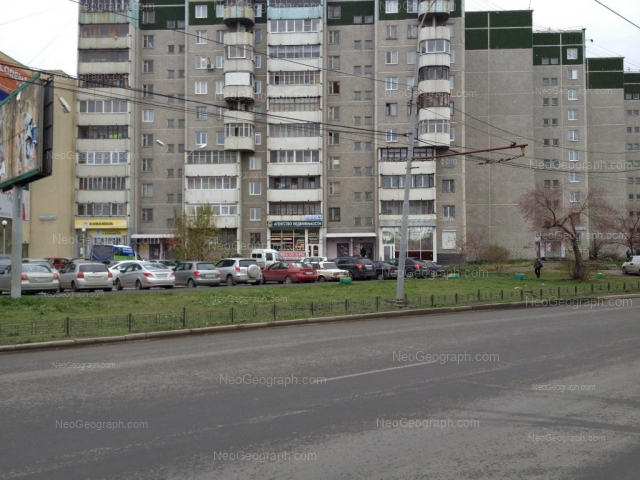 Адрес(а) на фотографии: улица Крестинского, 63, Екатеринбург