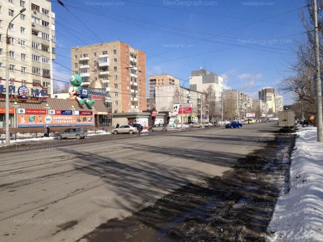 Адрес(а) на фотографии: Белореченская улица, 6, 8, 12А, 14, 16, 18А, Екатеринбург