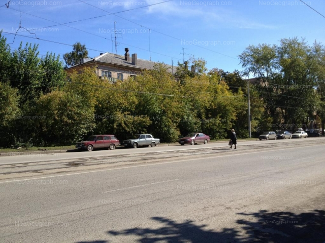 Address(es) on photo: Starikh Bolshevikov street, 4, 6, Yekaterinburg