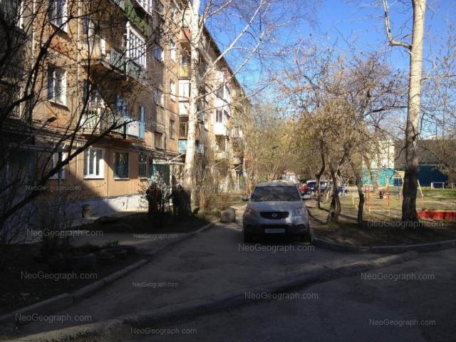 Адрес(а) на фотографии: улица Пальмиро Тольятти, 13, 15А, Екатеринбург
