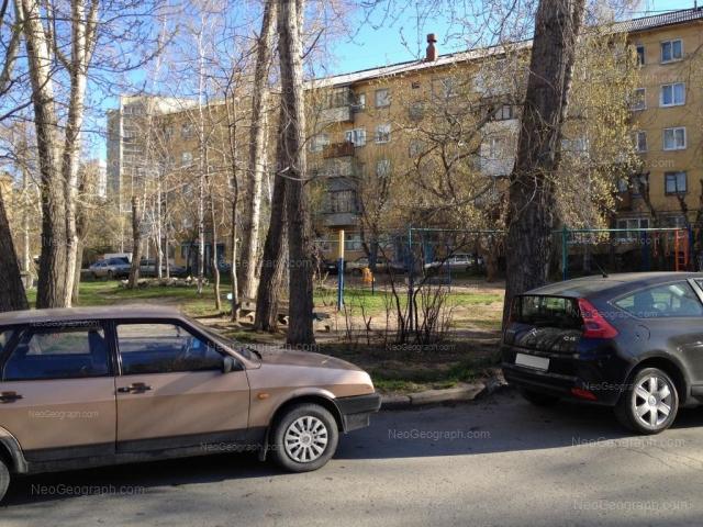 Адрес(а) на фотографии: улица Пальмиро Тольятти, 11, 12А, Екатеринбург
