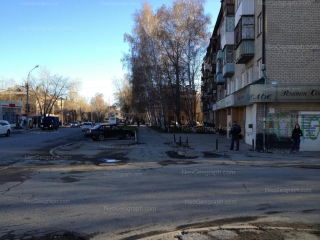 Адрес(а) на фотографии: улица Данилы Зверева, 16, 17, 18, Екатеринбург