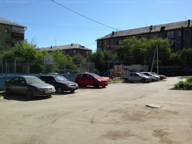 Адрес(а) на фотографии: улица Банникова, 4, Екатеринбург