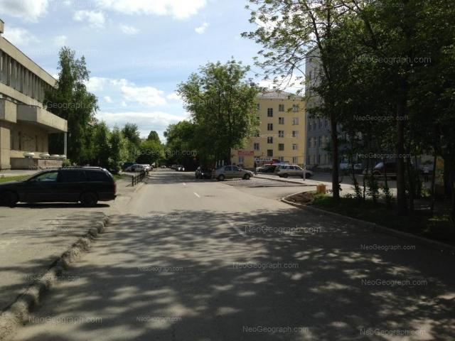 Address(es) on photo: Suvorovskiy lane, 3, 4, 5В, Yekaterinburg