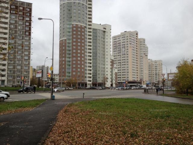 Address(es) on photo: Savvi Belikh street, 6, 16, Yekaterinburg
