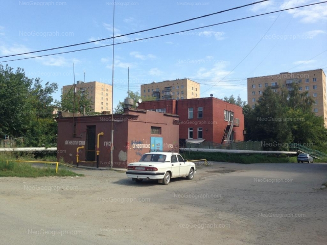 Address(es) on photo: Obkhodnoy lane, 37, Yekaterinburg