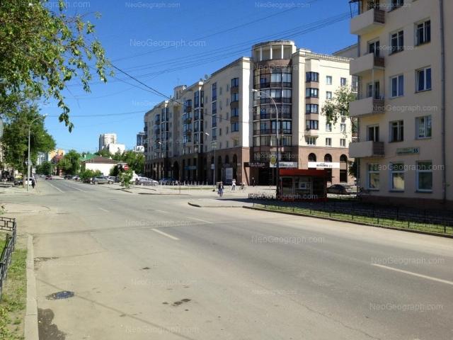 Адрес(а) на фотографии: улица Сакко и Ванцетти, 45, 47, 55, Екатеринбург