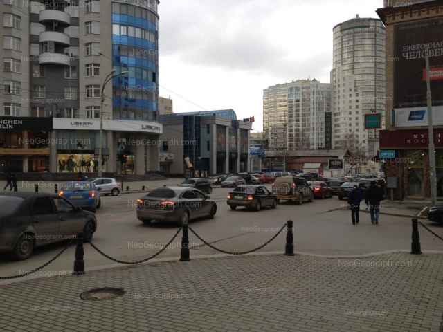 Address(es) on photo: Radischeva street, 16а, 20, Yekaterinburg