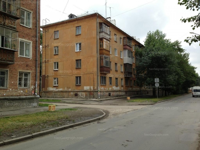 Адрес(а) на фотографии: улица Ломоносова, 26, 28, Екатеринбург