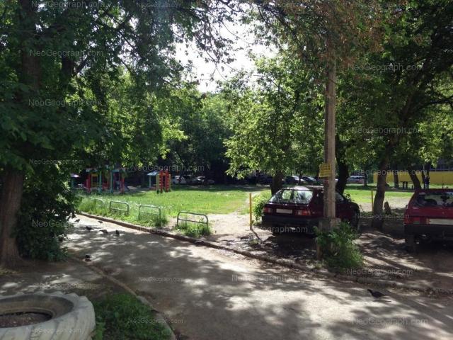 Уралмаш, Екатеринбург, двор рядом с домом на Машиностроителей, 13
