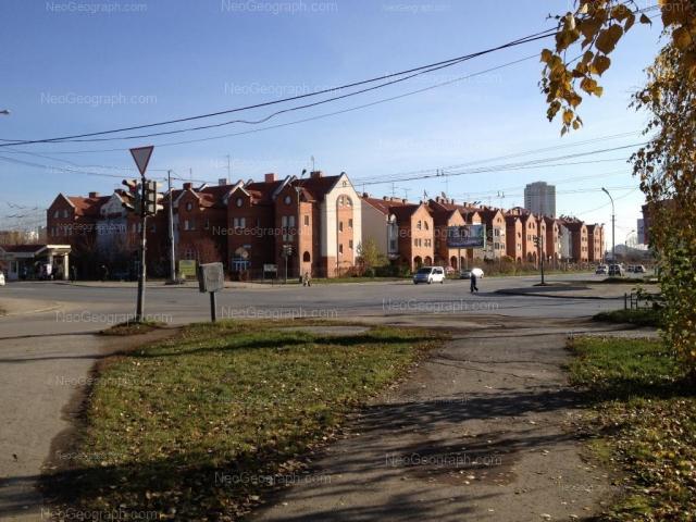 Адрес(а) на фотографии: улица Амундсена, 41, 43, 45, 47, 49, Екатеринбург