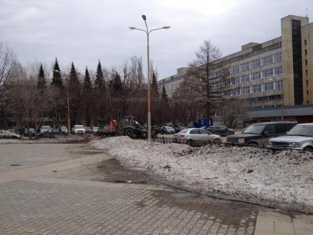 Адрес(а) на фотографии: Комвузовская улица, 11, Екатеринбург