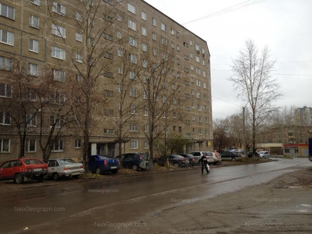 Адрес(а) на фотографии: Июльская улица, 19, 22, Екатеринбург