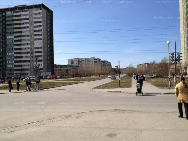 Address(es) on photo: Sedova avenue, 17, 21, 23, 25, Yekaterinburg