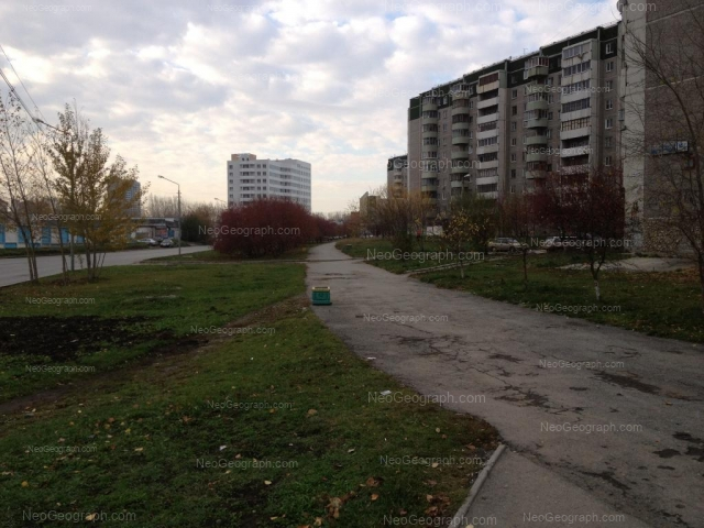 Address(es) on photo: Krestinskogo street, 50, 53, Yekaterinburg