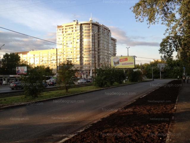 Адрес(а) на фотографии: Уральская улица, 3, 17, Екатеринбург