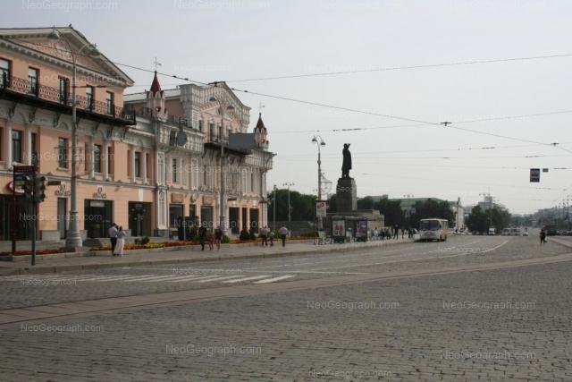 На фото видно: проспект Ленина, 25, Екатеринбург: Европа, торговый и деловой центр