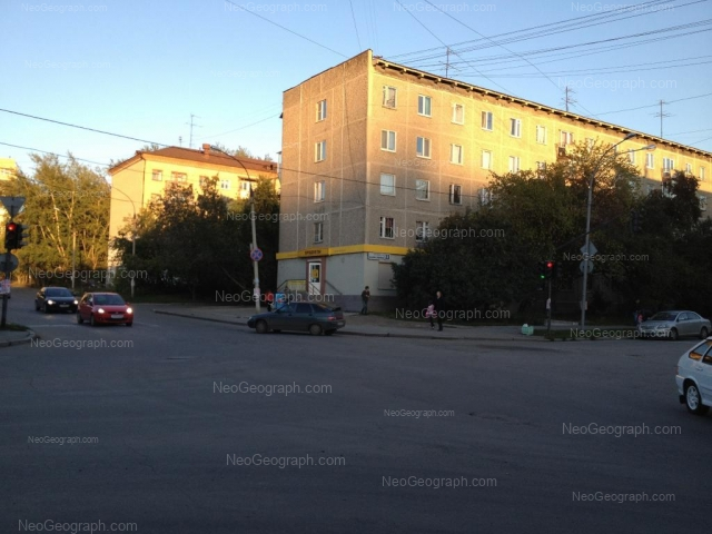 Address(es) on photo: Azina street, 15, 17, Yekaterinburg