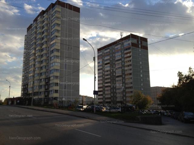 Адрес(а) на фотографии: улица Металлургов, 16А, 16Б, 18А, Екатеринбург