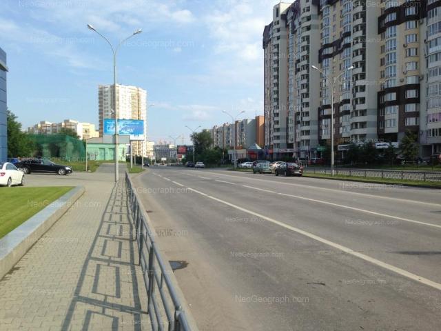Address(es) on photo: Marshala Zhukova street, 11, 13, 14, Yekaterinburg