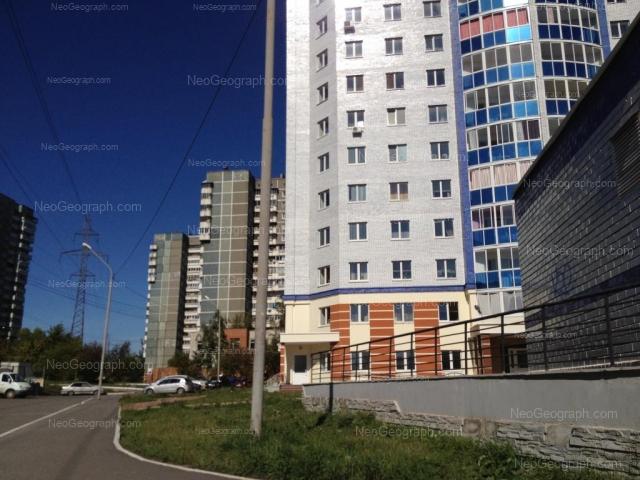 Адрес(а) на фотографии: бульвар Есенина, 5, 6, 7, 7А, 10, Екатеринбург