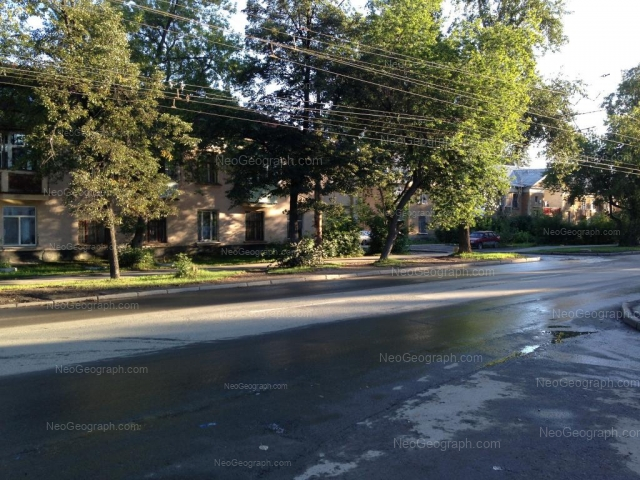 Address(es) on photo: Krasnoflotsev street, 23, 25, Yekaterinburg